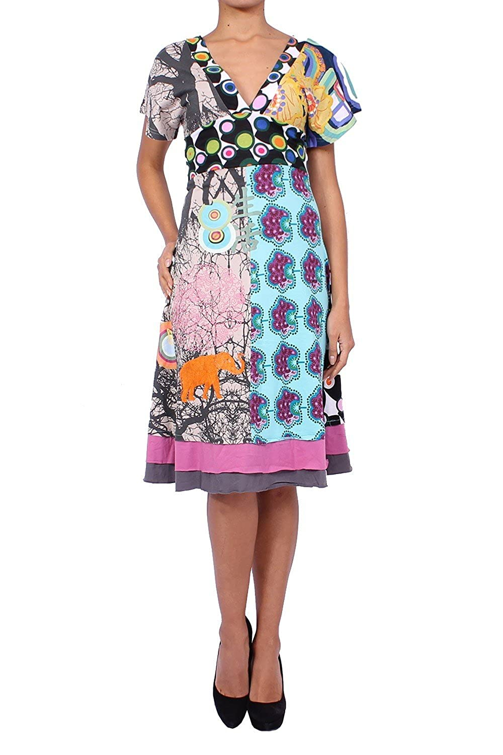 DESIGUAL -Women's Cotton Dress