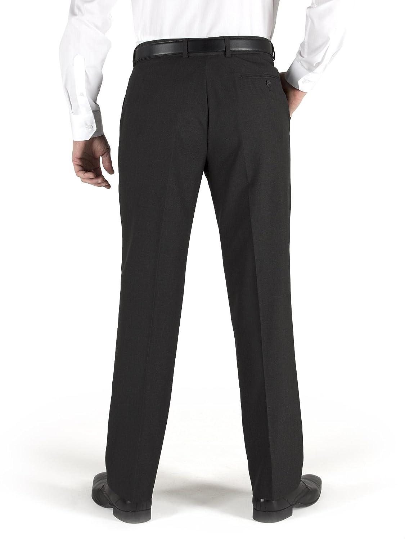 Scott /& Taylor Mens Grey Formal Trouser in 28W x Regular to 38W x Long