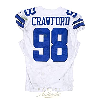 the latest 0e7fe 282e1 Tyrone Crawford Game Worn Dallas Cowboys Jersey From 9/25/17 ...
