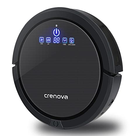 Crenova Robot aspirador con Virtual pared totalmente aucomatic self ...