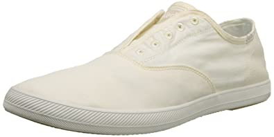 Keds Men's Chillax Washed Laceless Slip-On Sneaker,Natural,8.5 ...