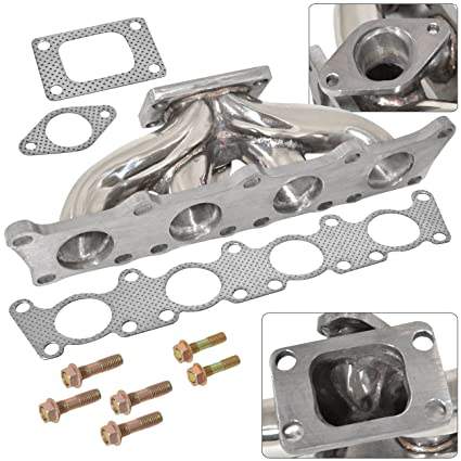 AJP Distributors T3 Turbo Manifold Stainless Steel High Performance Upgrade Fits 1.8T Volkswagen Audi MK4