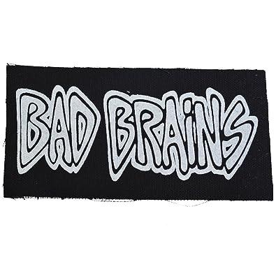 amazon co jp bad brains バッドブレインズ logo オフィシャル 布