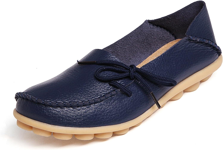 VenusCelia Women's Breathable Comfort Walking Office Flat Loafer
