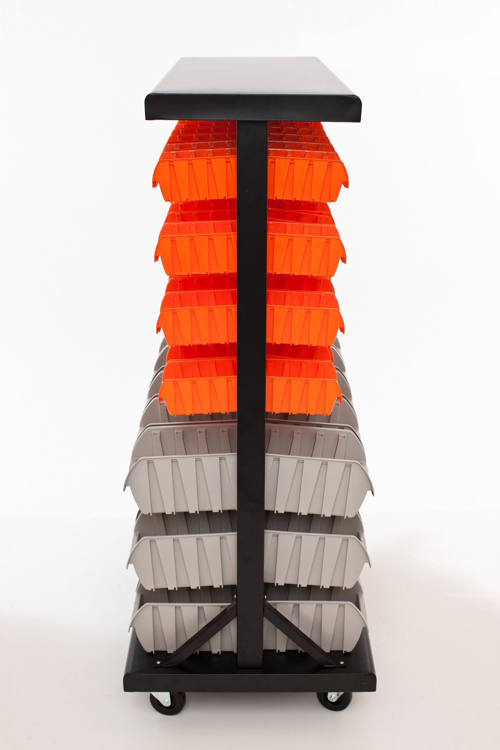 TRINITY Dual-Sided Mobile Bin Rack by Trinity (Image #3)
