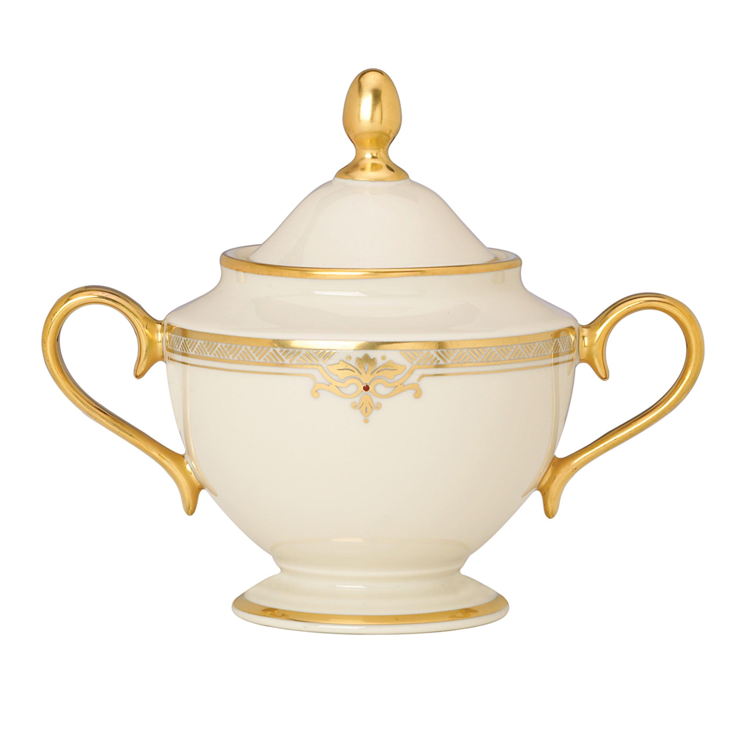 Lenox Republic Sugar Bowl with Lid by Lenox (Image #1)