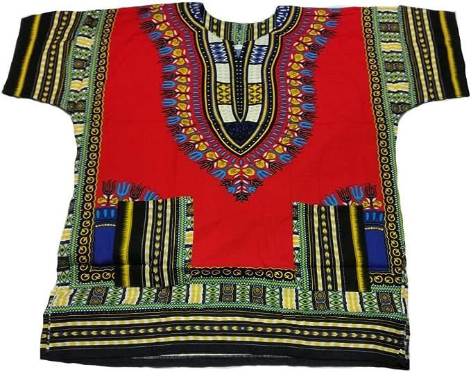 CE Dashiki d/'Robe Caftan africain tribal PONCHO MEXICAIN Hippie Thai festival shirt