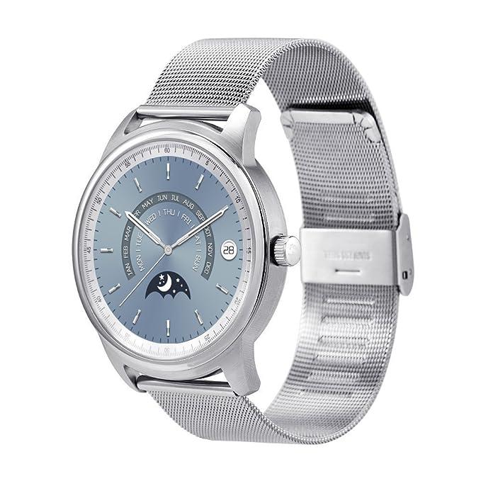 LEMFO LEM1 -Reloj inteligente impermeable con Bluetooth, pantalla redonda de alta definició