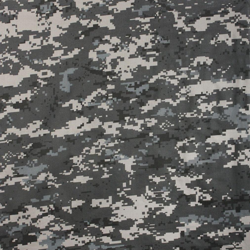 Digital Subdued Urban Camouflage Cotton Bandana (22'' x 22'')