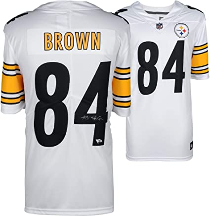 Antonio Brown Pittsburgh Steelers Autographed Nike White Limited  supplier