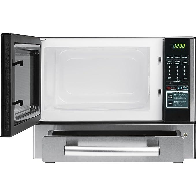 Amazon.com: LG LCSP1110ST combo de microondas y horno de 1.1 ...
