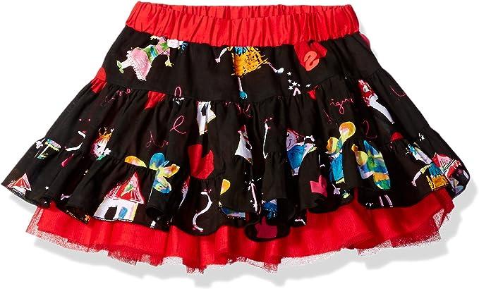 Desigual - Falda - trapecio - para niña: Amazon.es: Ropa y accesorios