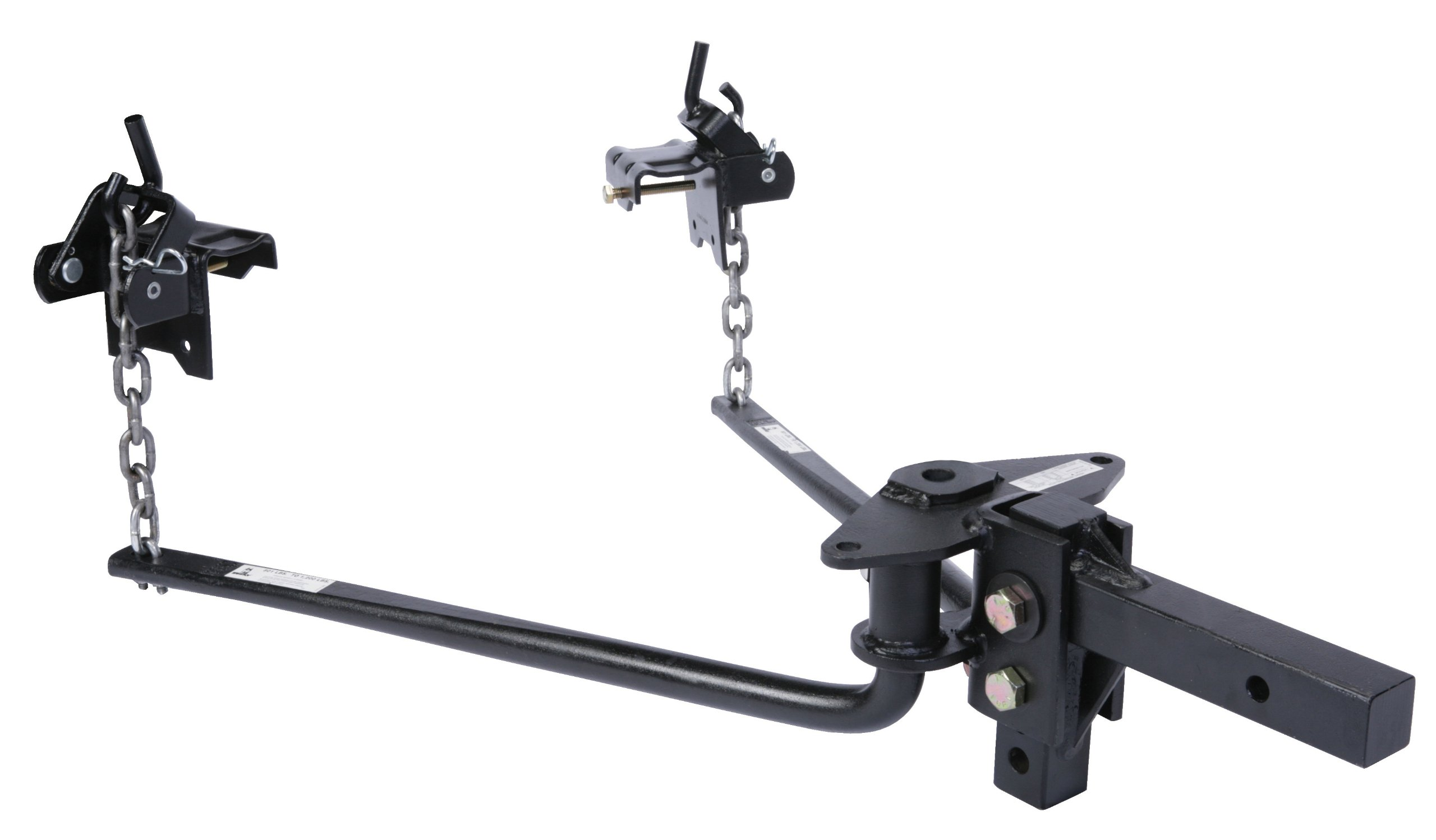Husky 31425 Round Bar Weight Distribution Hitch with Shank Assembly - (1001 lb. to 1400 lb. Tongue Weight Capacity) by Husky