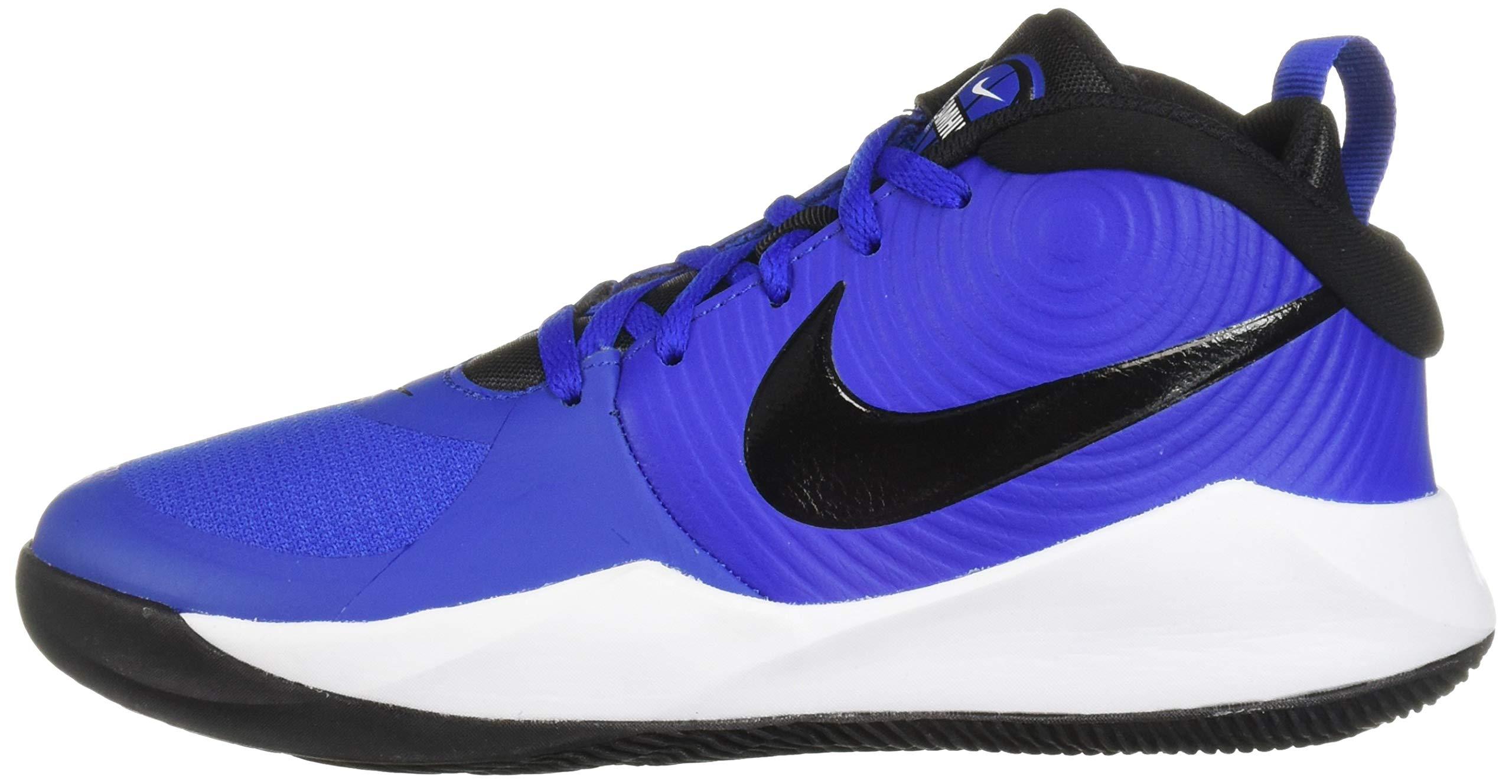 Nike Unisex Team Hustle D 9 (GS) Sneaker, Game Royal/Black - White, 5Y Regular US Big Kid by Nike (Image #5)