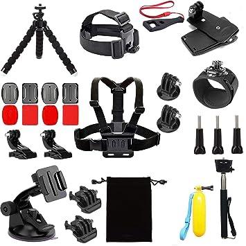 Linghuang Kit de Accesorios de cámara de acción para AKASO EK5000 ...