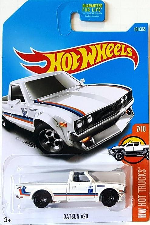 Buy Hot Wheels 2017 Hw Datsun Trucks 620 181 365 White Online At