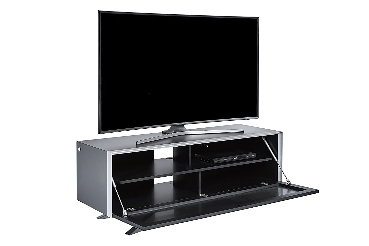 jahnke tv lowboard Jahnke SL 5130 AF TV Stand, Wood, brown, 49.3 x 45 x 130 cm: Amazon.co.uk:  Kitchen u0026 Home