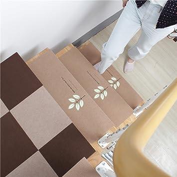 5 Set Of Stair Treads Mats 20x70cm Anti Slip Rugs Night Light Luminous Pads  Step