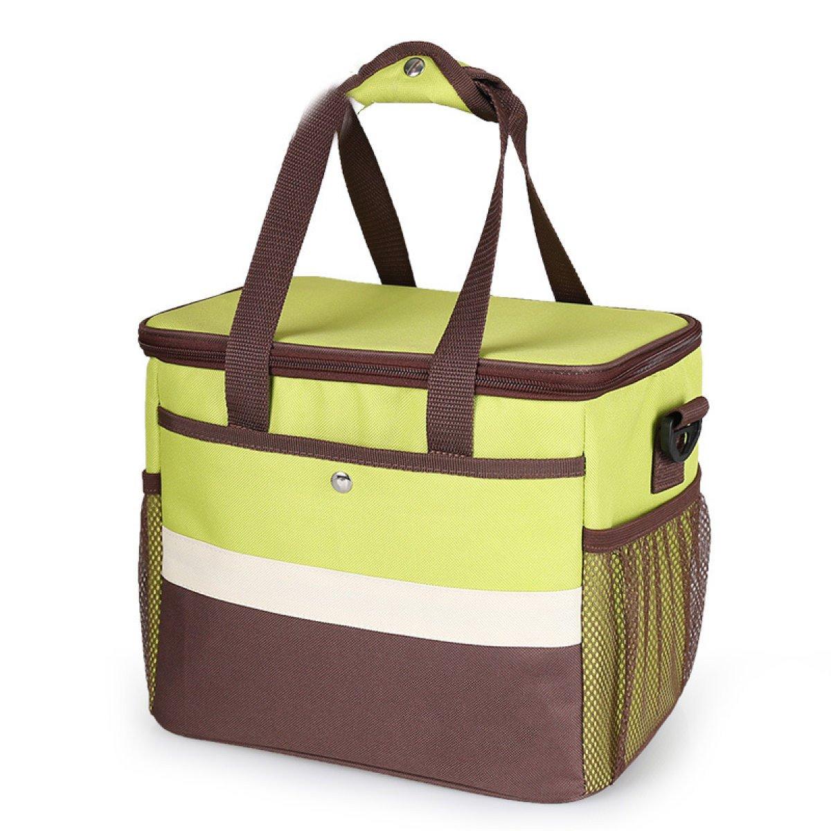 Outdoor-Picknick-Tasche Große Kapazität Kühltasche Camping Isolierung Paket Eisbeutel Lebensmittel-Taschen Tragbare