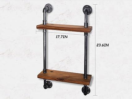 Dong scaffale di stoccaggio scaffale di legno scaffale in ferro