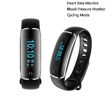 KOBWA Montre Connectée Fitness Tracker, Bluetooth 4.0 Etanche IP67 Bracelet Sportif Tracker Dactivité