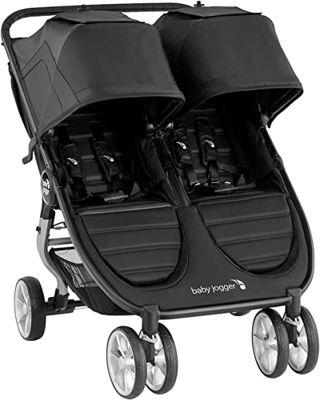 Baby Jogger City Mini2 Cochecito doble Negro: Amazon.es: Bebé