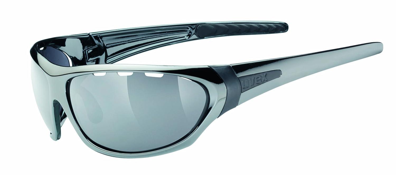 Uvex Gafas de Sol Paranoid plata brillo ÚNICA: Amazon.es ...