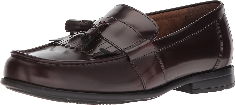 Nunn Bush Men's Denzel Moc Toe Kiltie Tassel Slip-On Loafer