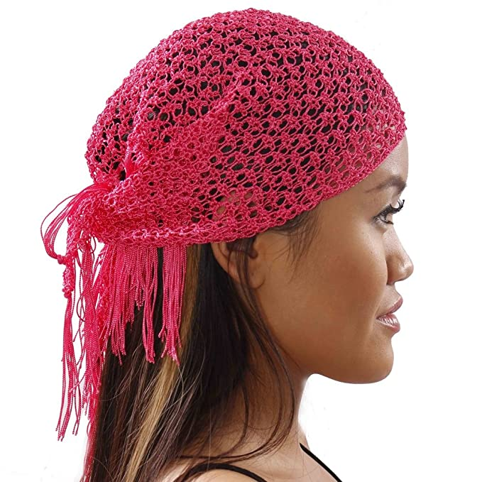 Amazon Belly Dancer Crochet Head Scarf Bandana Aida Masriya