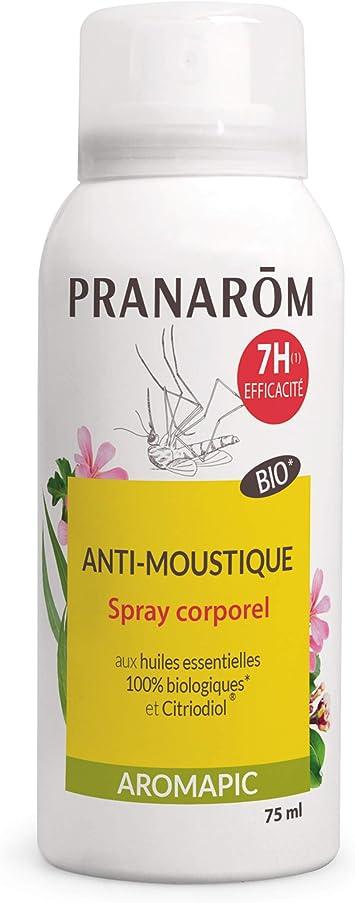 Pranarôm Aromapic- Spray corps Bio Anti-moustique 75ml: Amazon.es ...