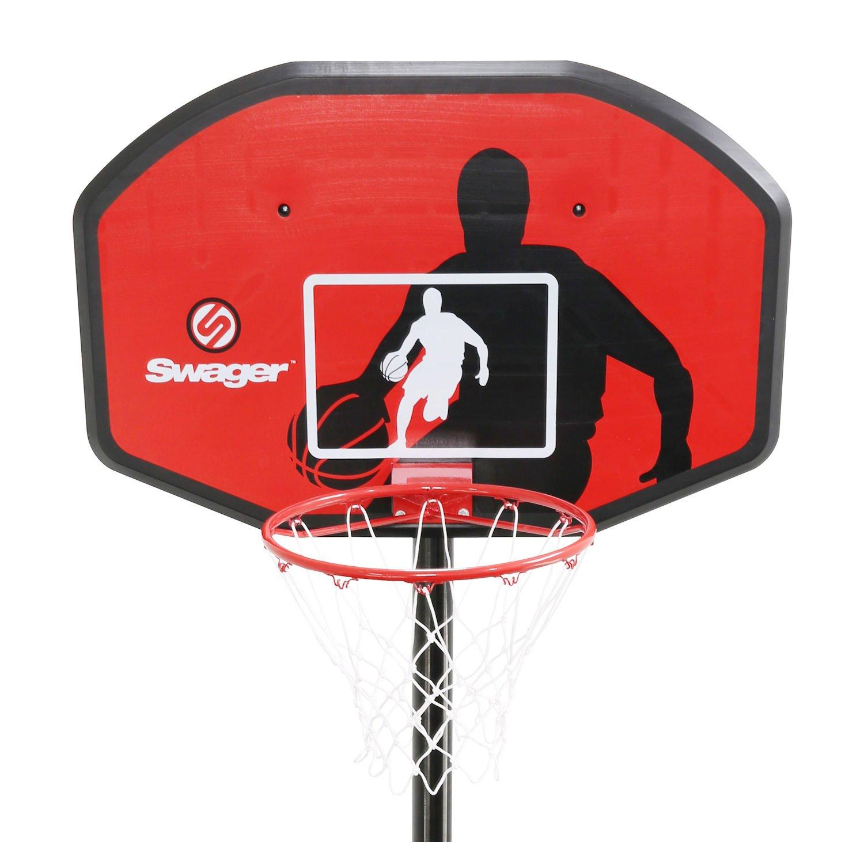 Canasta Basquetbol Swager The Classic Altura ajustable de 2m30 /à 3m05