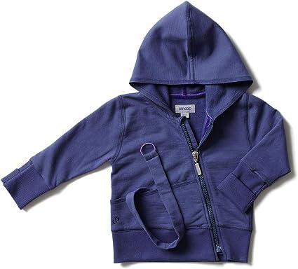 Smoob Addy - Sudadera con capucha para niño y niña – Ropa de bebé unisex para peinados – 100% algodón con cremallera: Amazon.es: Ropa y accesorios