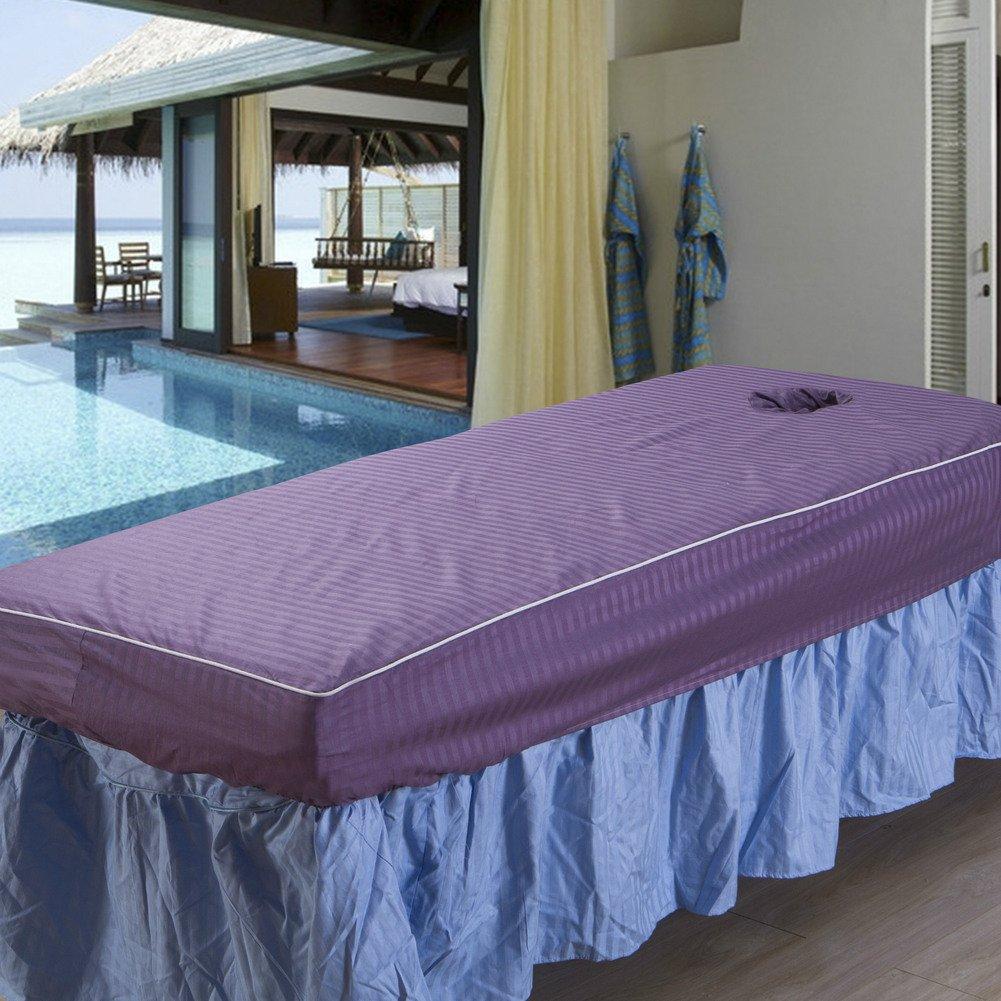 LWZY Linens Massage table sheet,waterproof sheets,spa linens/beauty salon massage scraping bed bedspread/sheet-A 70x190cm(28x75inch)