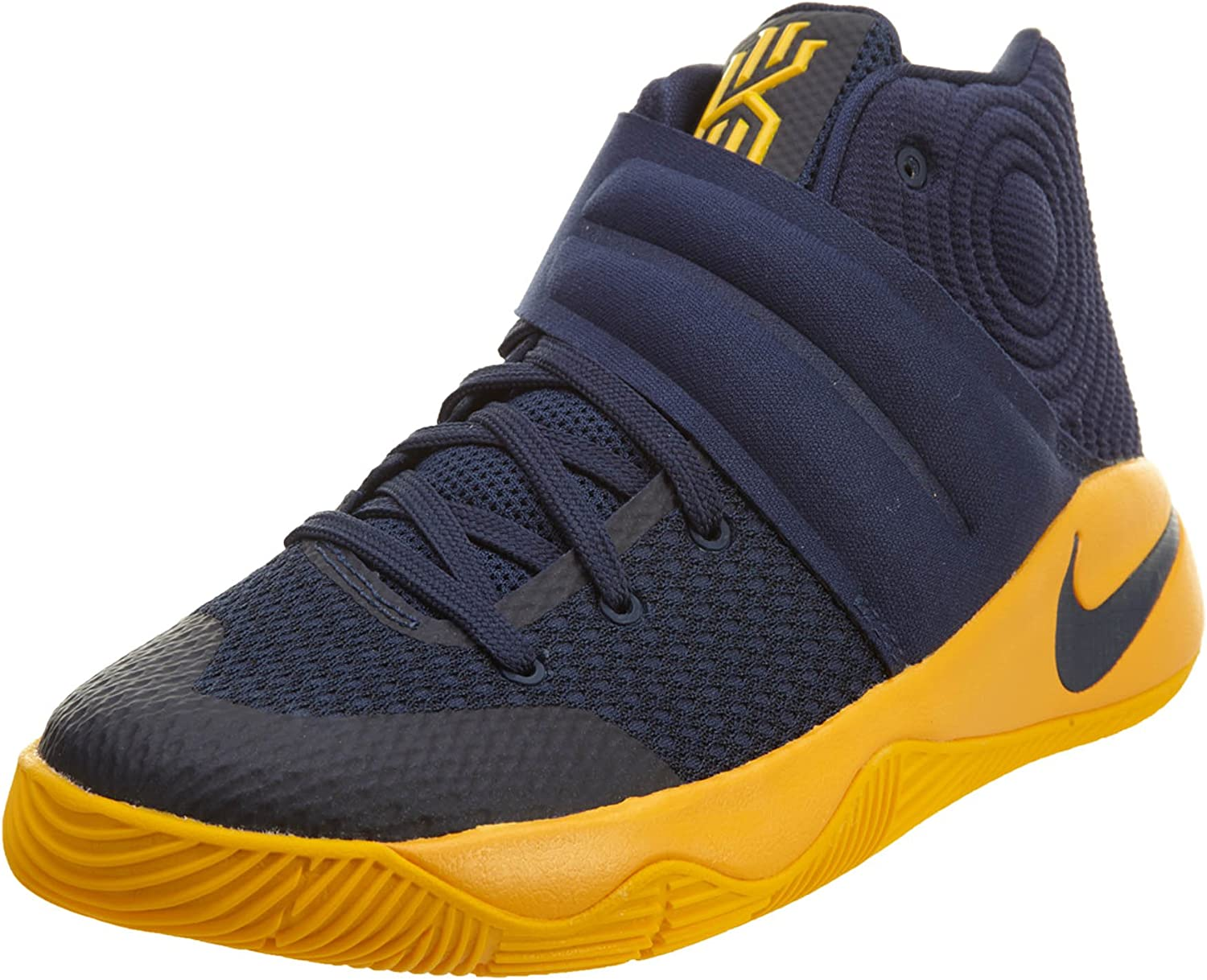 siete y media Ahuyentar bolsillo  nike Kyrie 2 GS (Mid Navy/Mid Navy-University Gold-Un) Cavaliers Away (6 M  US Big Kid): Amazon.ca: Shoes & Handbags