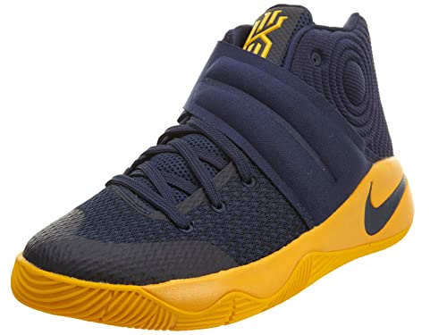 new styles 894b4 ad2dc Nike Kyrie 2 GS (Mid Navy Mid Navy-University Gold-Un) Cavaliers Away (6.5  M US Big Kid)  Amazon.in  Shoes   Handbags