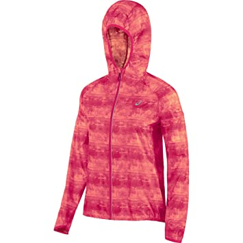 d5ffb4a8 Women's ASICS FujiTrail Packable Jacket, Azalea Print, X-Large ...