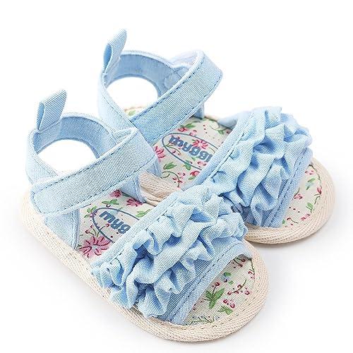 Kleinkind Schuhe Neugeborenes Blume weich rutschfest Turnschuhe Sandale Kinder