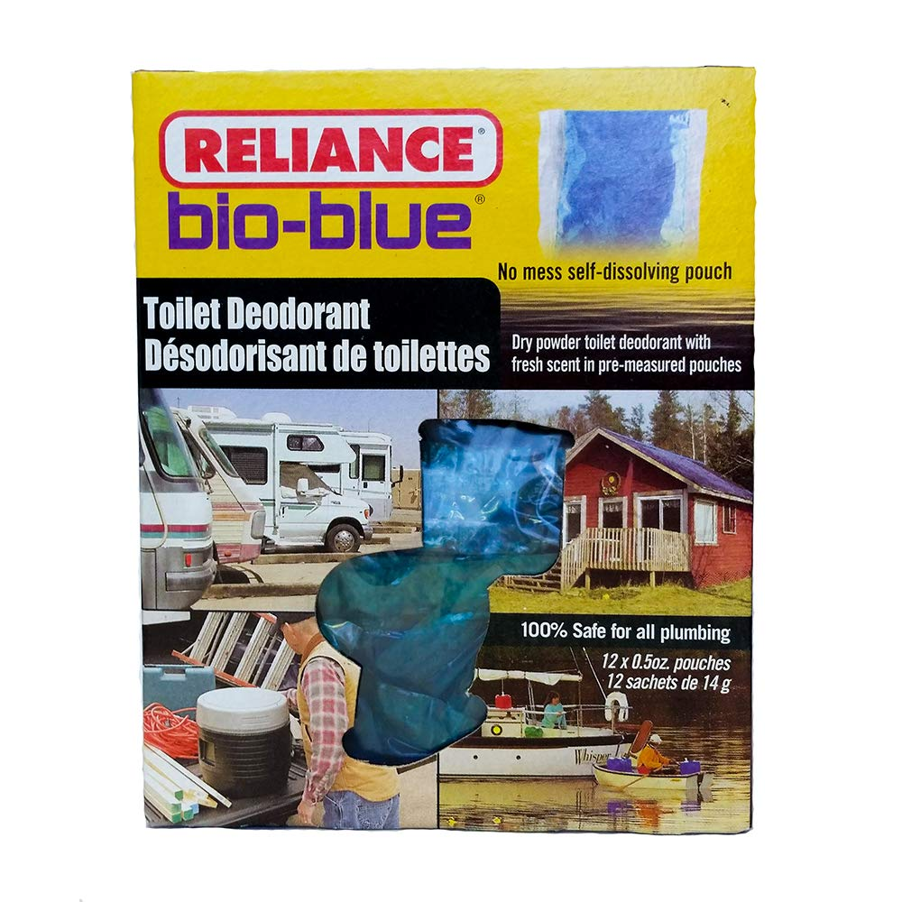 Reliance Products Bio-Blue Toilet Deodorant Chemicals (12-Pack)