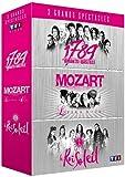 3 grands spectacles: 1789, les amants de la Bastille + Mozart, l'opéra rock + Le Roi Soleil