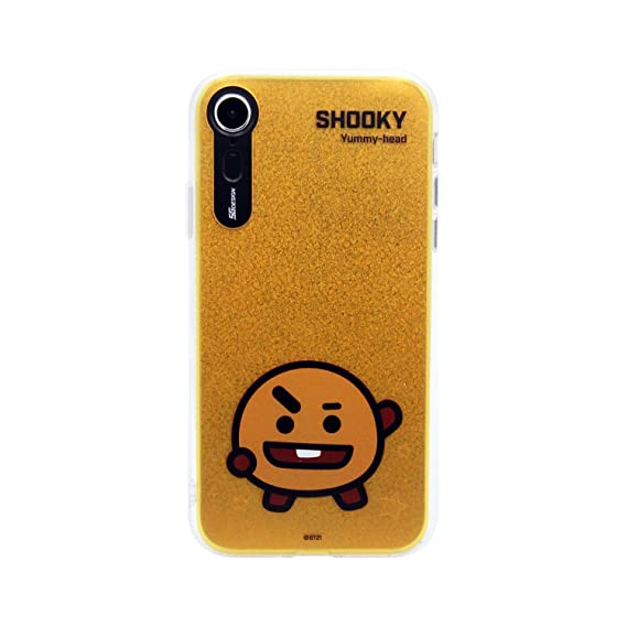 new styles ff440 0bc26 Amazon.com: iPhone XR Case, BTS BT21 Official Light Up Phone Case ...