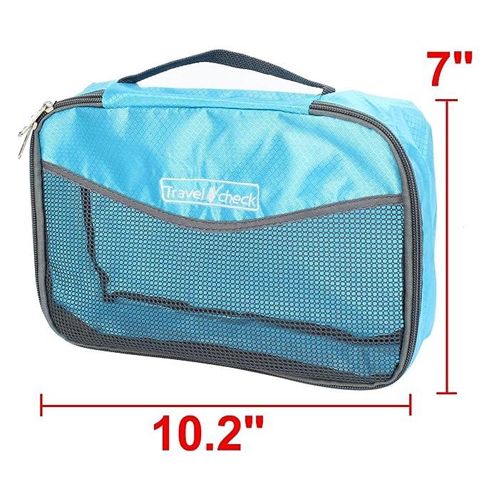Amazon.com: eDealMax Malla Limpieza en seco de la ropa Interior organizador del almacenaje de la Bolsa de 26cm x 18cm Azul: Kitchen & Dining