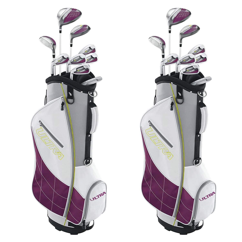 Womens Left Handed Golf Clubs >> Amazon Com Wilson Ultra Womens Left Handed Super Long Golf Club