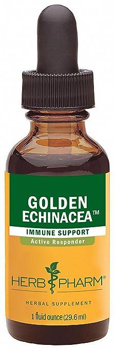Herb Pharm Certified Organic Golden Echinacea Liquid Extract