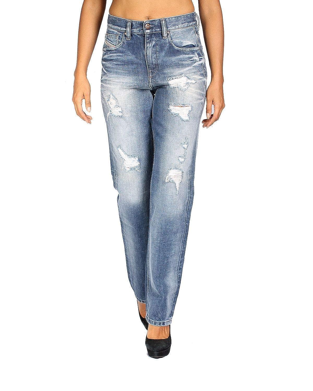 Diesel - Jeans/Vaquero para Mujer Rizzo 848I - Regular Slim Straight - Azul, W23 / L32