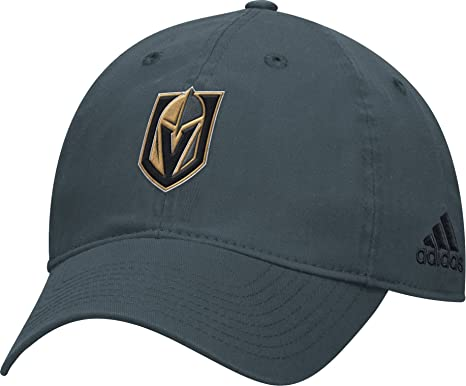 e79289eed41 Image Unavailable. Image not available for. Color  Adidas Men s Vegas  Golden Knights Basic Gray Slouch Adjustable Hat ...
