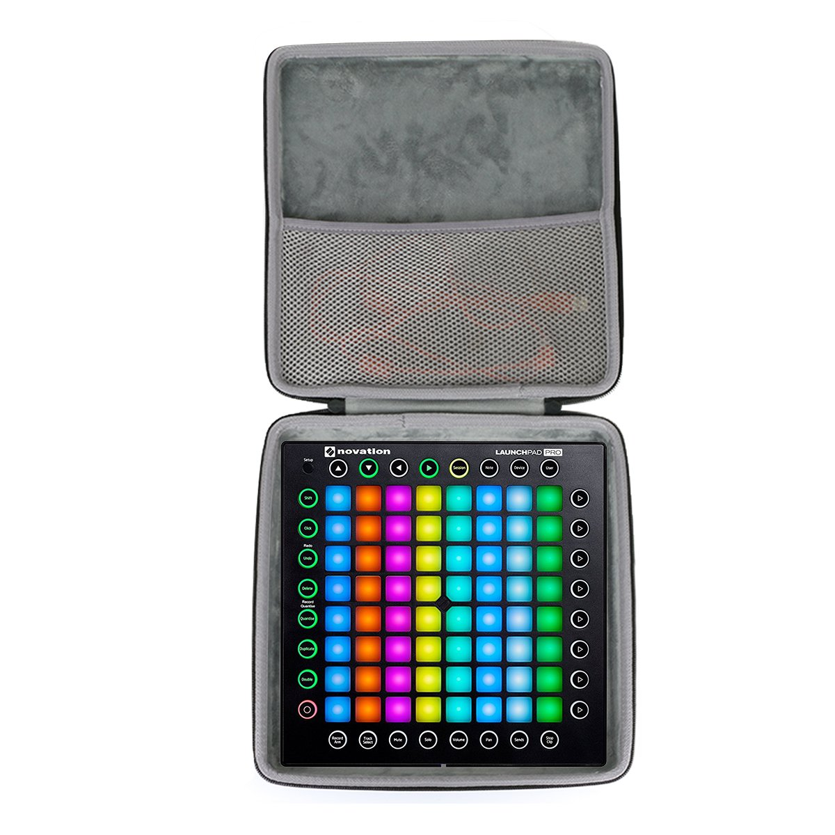 Hard Travel Case for Novation Launchpad Pro Professional 64-Pad Grid Performance Instrument Ableton by co2CREA by Co2Crea