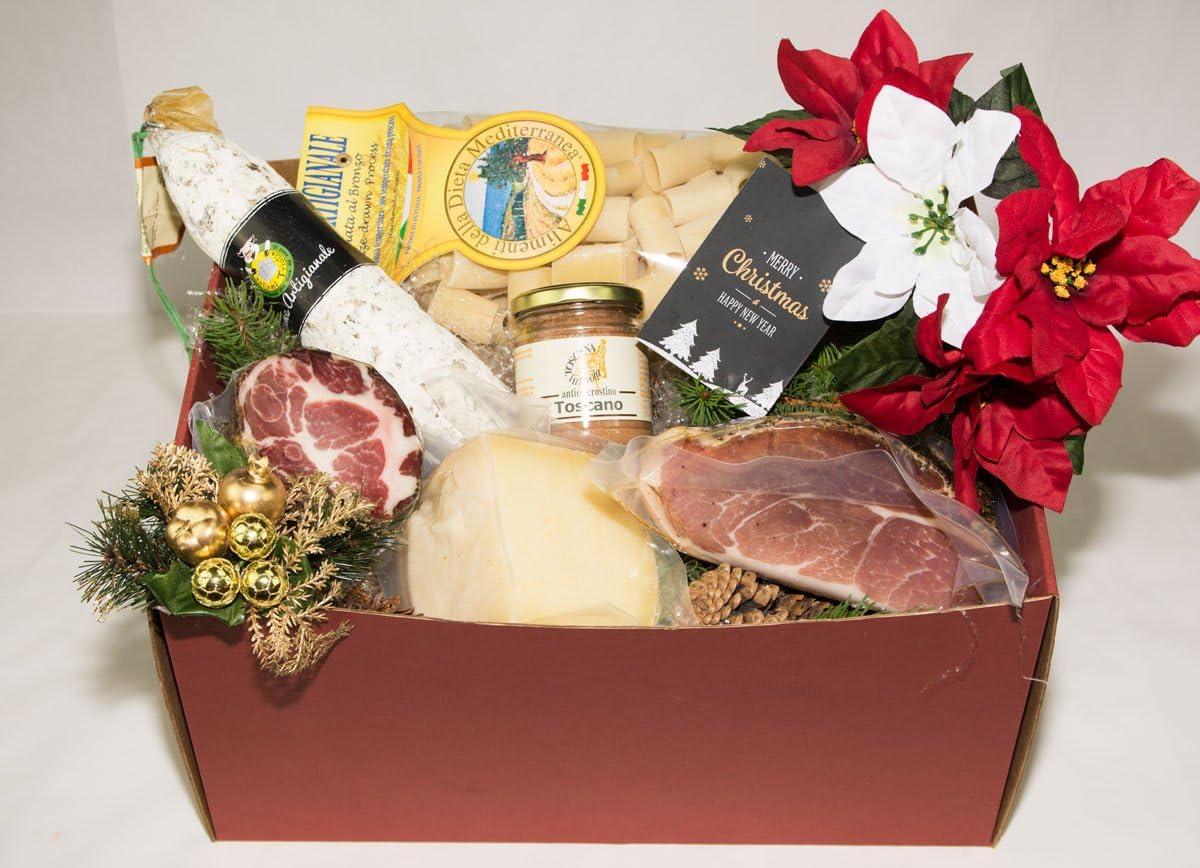 Christmas Box The Tuscany Table 2 Salumificio Artigianale Gombitelli 2017 Christmas Gift Collection Tuscany Italy Amazon Co Uk Kitchen Home