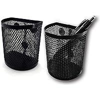 Magnetic Pen Pencil Mesh Metal Basket Holder Container Storage Organizer for Kitchen Refrigerator Fridge Whiteboard Dry…
