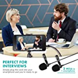 Movo Professional Lavalier Lapel Clip-on