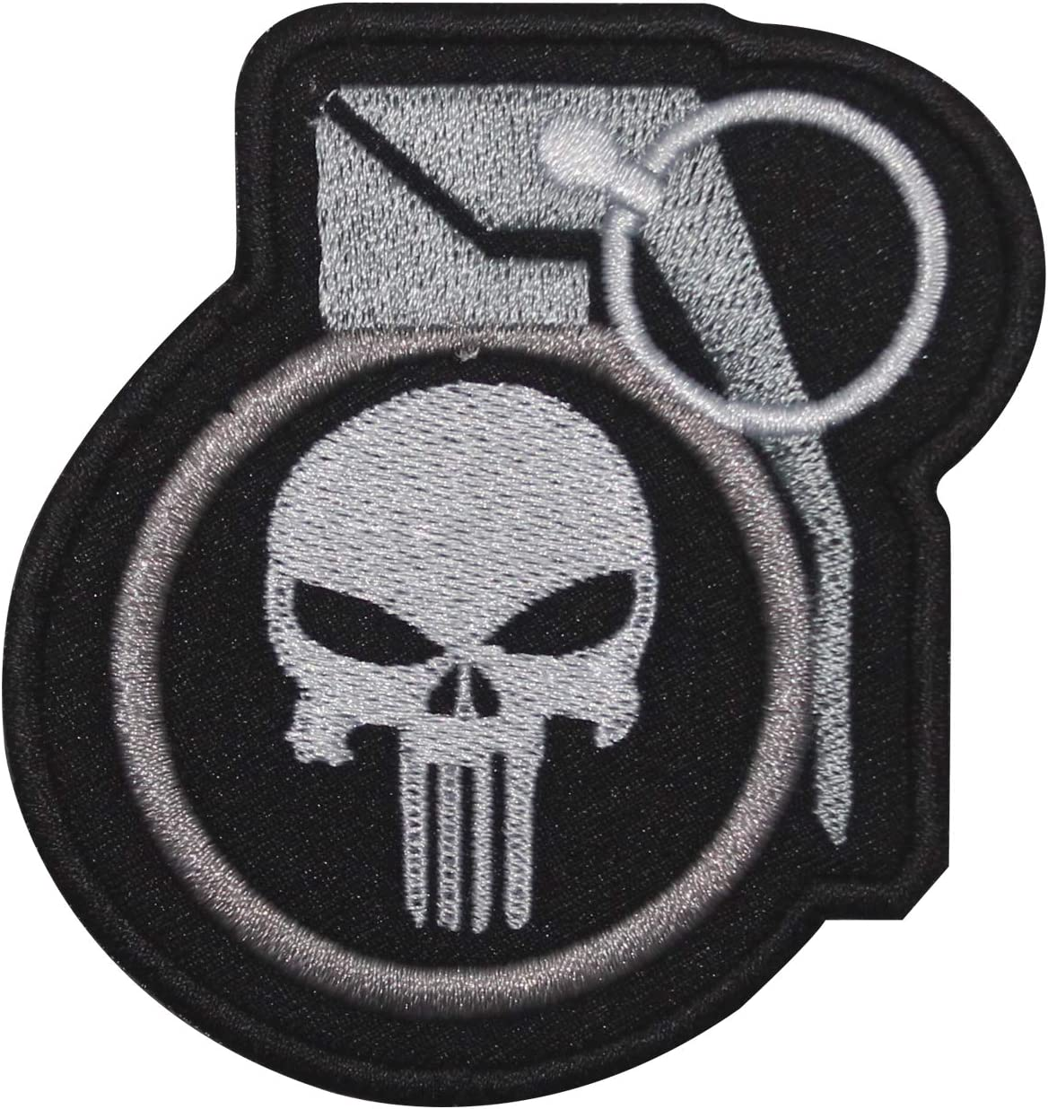 Parche bordado para coser o coser con la película de Punisher Super Hero para ropa, camisas, vaqueros, etc.